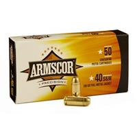 Armscor, .40 S&W, FMJ, 180 Grain, 1,000 Rounds