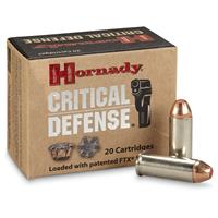 Hornady Critical Defense .44 Special 165 Grain FTX Ammo, 20 rounds