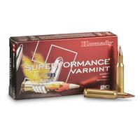Hornady Superformance Varmint, .222 Remington, NTX, 35 Grain, 20 Rounds