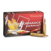 Hornady Superperformance Varmint, .22-250 Rem., NTX, 35 Grain, 20 Rounds