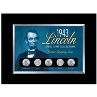 American Coin Treasures® 1943 Lincoln Steel Penny 5-Pc. Collection