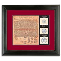 American Coin Treasures® Declaration of Independence Birth of a Nation Display