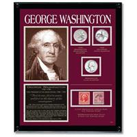 American Coin Treasures® George Washington Framed Tribute