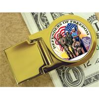 American Coin Treasures® Goldtone Defenders of Freedom New York Statehood Quarter Money Clip