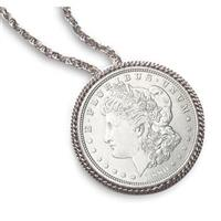 American Coin Treasures® Morgan Silver Dollar Pin / Pendant