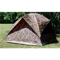 Texsport Headquarters Camouflage 5-Person Dome Tent