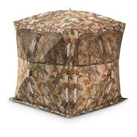 Barronett Grounder Hunting Blinds, BloodTrail Blades Camo, 3-person