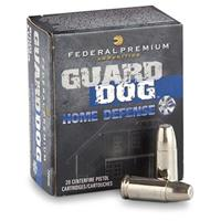 Federal Premium Guard Dog, 9mm Luger, EFMJ, 105 Grain, 20 Rounds