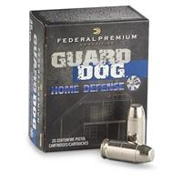 20 rds. 9mm Federal Premium® Guard Dog® 105 Grain FMJ Home Defense Ammo