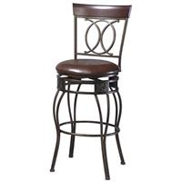 Linon Home Decor, Inc. 24 inch O & X Counter Stool