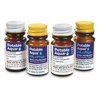 100-ct. Potable Aqua Water Purification Tablets with PA+ Plus