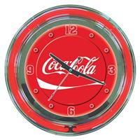Coca-Cola® Neon Dynamic Ribbon Clock