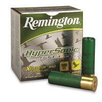 "Remington HyperSonic Steel, 10 Gauge, 3 1/2"" 2 Shot 1/12 oz. Shot Shells, 25 Rounds"