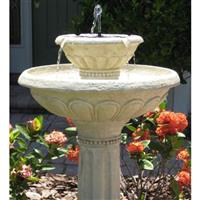 Smart Solar™ Kensington 2-tier Solar-on-Demand Fountain