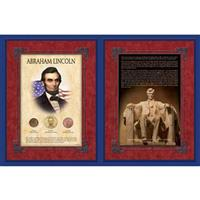 Abraham Lincoln Gettysburg Address Commemorative Display