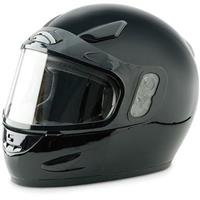 Raider Full Face Snowmobile Helmet, Black