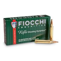 Fiocchi Rifle Shooting Dynamics, .300 Winchester Magnum, PSP, 180 Grain, 20 Rounds