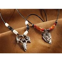 Primitive Buck Arrowhead Necklace