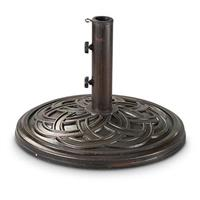 CASTLECREEK Bronze Celtic Knot Patio Umbrella Base