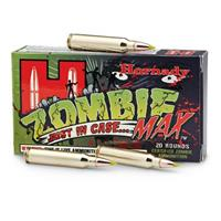 Hornady Zombie Max, .223 Remington, Z-Max Polymer Tip, 55 Grain, 20 Rounds