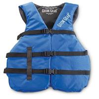 Guide Gear Oversized Universal Life Jacket, 40 inch to 60 inch Chest, Blue / Black