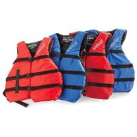 Guide Gear Universal Life Jackets, Blue / Red