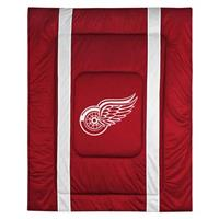 Sports Coverage® NHL Team Sidelines Comforter, Detroit Red Wings