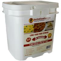 Survival Cave® 90-serving Freeze Dried Emergency Food Kit