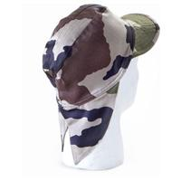 6-Pk. New French Military Surplus Camo Field Caps