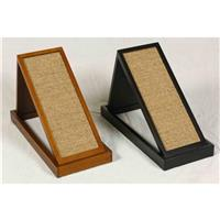 Mr. Herzher's™ Combo Scratching Platform, Early American / Ebony