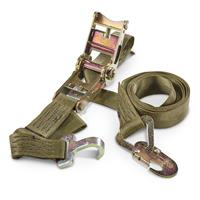 2-Pk. of New U.S. Military 10' Ratchet Straps