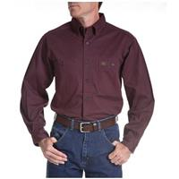 Men's Riggs® Twill Work Shirt, Burgundy