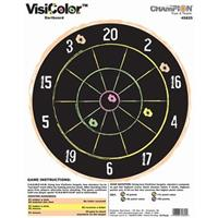 Champion® Visicolor™ High Visibility Dartboard Paper Targets, 10-Pk.