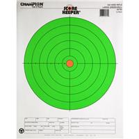 Champion® Fluorescent Green Paper Targets, 12-Pk.