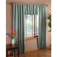 Chelsea® Tab Top Insulated Curtains and Valance, Sage