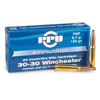 PPU .30-30 Win. 150 Grain FSP 20 rounds