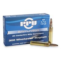 PPU .300 Win. Mag 150 Grain SP 20 rounds