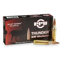 PPU Thunder® .308 Win. 170 Grain Rifle Ammo, 20 Rounds