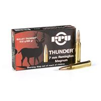 PPU Thunder® 7mm Rem. Mag. 158 Grain Rifle Ammo, 20 Rounds