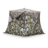 Bell Bottom™ Hub-style 2-person Ground Blind, Blood Trail™ Camo