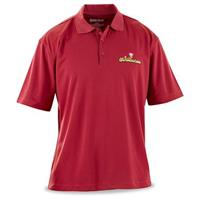 Men's Short-sleeve UV Dry Polo with Sportsman's Guide® Logo, Red