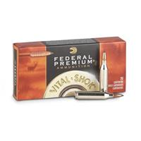 Federal Premium Vital-Shok, .300 Winchester Magnum, Trophy Copper BT, 165 Grain, 20 Rounds