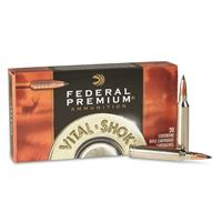 Federal Premium Vital-Shok, 7mm Rem., Lead Free Trophy Copper BT, 150 Grain, 20 Rounds