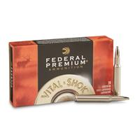 Federal Premium Vital-Shok Trophy Bonded Bear Claw, .30-06 Springfield, 200 Grain, 20 Rounds