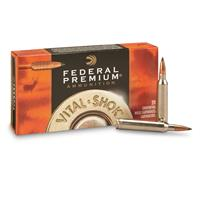 Federal Premium Vital-Shok, .338 Federal, Trophy Copper BT, 200 Grain, 20 Rounds