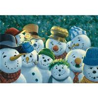 """Snowmen"" Floor Mat from the Wild Wings Collection®"