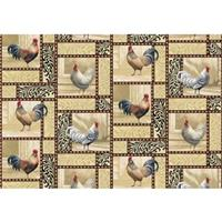 """Chicken Pattern"" Floor Mat from the Wild Wings Collection®"