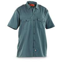 2 Dickies® Short-sleeved Work Shirts, Loden
