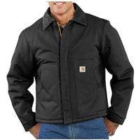Men's Carhartt® Workwear Duck Traditional Jacket, Black