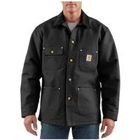 Men's Carhartt® Workwear Duck Chore Coat, Black